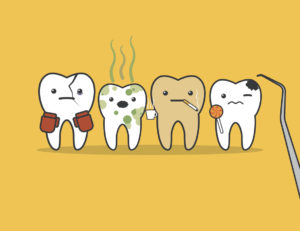 A tooth filling takes one short dental visit